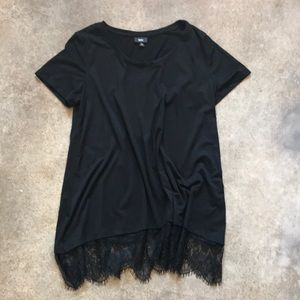 Lace Edge Tunic xl